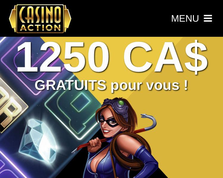 Voici à Montréal le meilleur des casinos en ligne - C'est Casino Action