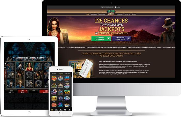 Yukon Gold est un casino mobile pour les joueurs canadiens