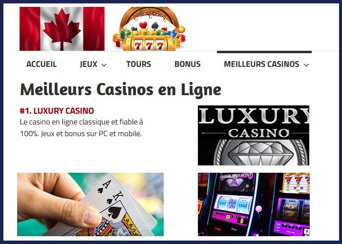 Le blog de Carlos pour les fans de casino
